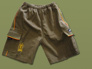 Kids Army Cargo Shorts