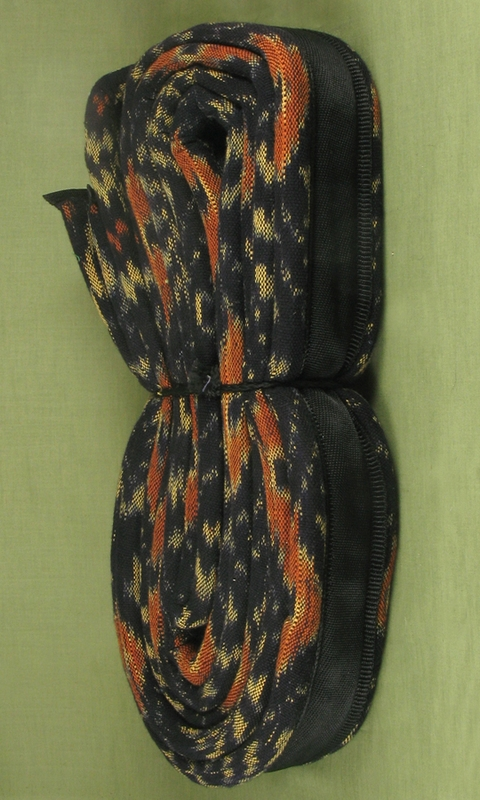 Brown-Yellow Ikat Strap
