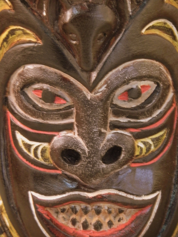 Ethnic Dayak Mask/2