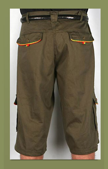 Army Cargo w/Rasta Piping