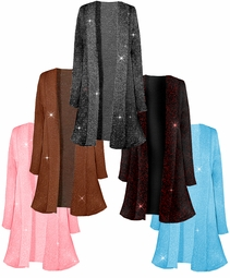 New! Pretty Sparking Glimmering Plus Size & Supersize Jackets 0x 1x 2x 3x 4x 5x 6x 7x 8x