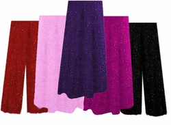 Gorgeous Glimmer Sweater Pants & A-Line Skirts - Plus Size & Supersize Lg to 9x