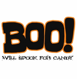 FINAL SALE! Spook for Candy Plus Size & Supersize T-Shirts S M L XL 2x 3x 4x 5x 6x 7x 8x