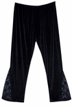 Hot! Gothic Plus Size & Super Size Lace Pants! Lg Xl 0x 1x 2x 3x 4x 5x 6x 7x 8x 9x
