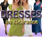 PLUS SIZE DRESSES on CLEARANCE!