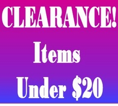 "CLEARANCE! - Under $20 <br><font size=""1"" color=""red""> (Last updated 11/16/10)</font>"