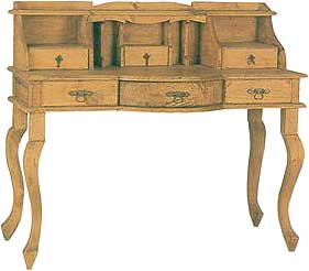 Puebla Rustic Writing Desk