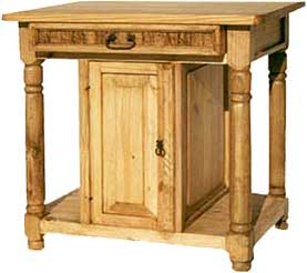 Monterrey Pine Kitchen Table