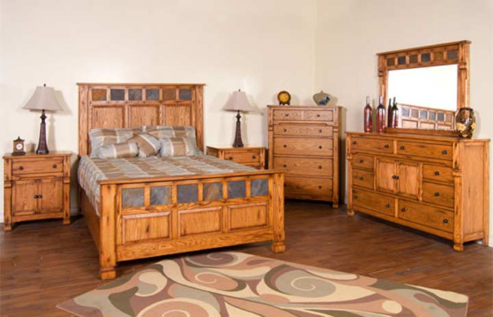 Arizona Rustic Bedroom Set