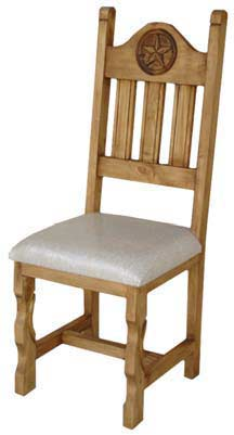 Star Rustic Chair W/ Cushions