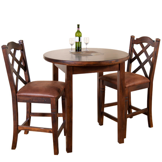 Durango Round Pub Table Set