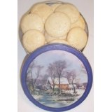 1 Pound Cookies in a Christmas Tin