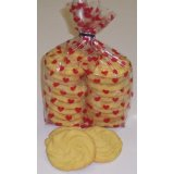 1 Pound Red Heart Bag Cookies