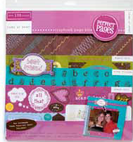 Scrapbook Page Kit - Teen (Young at Heart) - Discontinued