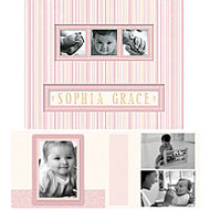 Baby Girl Photo Scrap Combo Album - Maggie - Discontinued