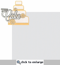 I Do: The Cake 2 Piece Laser Die Cut Kit