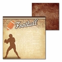 All Football: All Football 12 x 12 Double-Sided Cardstock