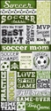 All Soccer: All Soccer 5 x 12 Sticker Sheet