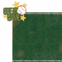 Baseball: Great Game 2 Piece Laser Die Cut Kit