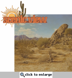 <font color=#f58e8f>SYT&hearts;</font><font color=#006666>Southwest: Scenic View 2 Piece Laser Die Cut Kit</font>
