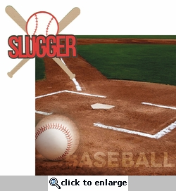 Baseball: Slugger 2 Piece Laser Die Cut Kit