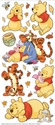 Pooh Large Flat Stickers
