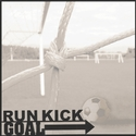 Smack Sports: Run Kick Goal 12 x 12 Overlay Quick Page Laser Die Cut