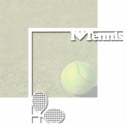 Match Point: I Heart Tennis 12 x 12 Overlay Quick Page Laser Die Cut