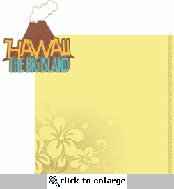 Big Island: Hawaii 2 Piece Laser Die Cut Kit