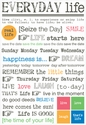 Express Yourself: Everyday Life Sticker