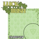 Lucky Charm: Luck Of The Irish 2 Piece Laser Die Cut Kit