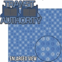 Tomorrow Land: Transit Authority Laser Die Cut Kit