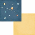 Reach For The Stars: Outta This World 12 x 12 Double Sided Paper