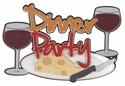 Dinner Party Laser Die Cut