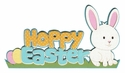 Hoppy Easter Laser Die Cut