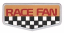 Race Fan: Race Fan Laser Die Cut