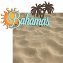 Paradise Found: Bahamas 2 Piece Laser Die Cut Kit