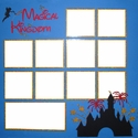 Theme Park:Magical Kingdom Page Overlay Laser Die Cut