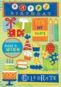 It's My Party 5 1/2 x 9 1/2 Cardstock Stickers