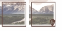 National Parks: Grand Teton Double 12 x 12 Overlay Quick Page Laser Die Cut
