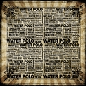 Sport Trendy: Water Polo 12 x 12 Paper