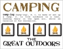 Say It With Stickers: Mini Camping Sticker Sheet