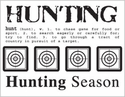Say It With Stickers: Mini Hunting Sticker Sheet