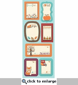 Happy Harvest: Simple Stories Sticker Stacker Sheet