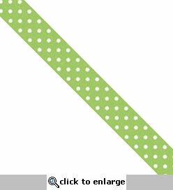 Washi Tape: Limeade Swiss Dot