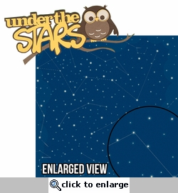 Under The Stars: Under The Stars 2 Piece Laser Die Cut Kit