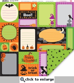 Trick or Treat: Fright Night 12 x 12 Double-Sided Paper