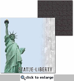 New York: Liberty 12 x 12 Double-Sided Cardstock