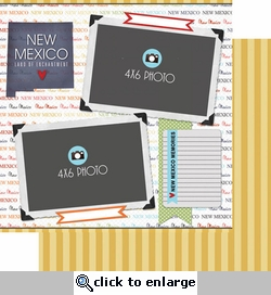 New Mexico - DS Quick Page Journal