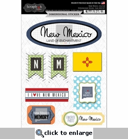 New Mexico Journal - Dimensional Sticker